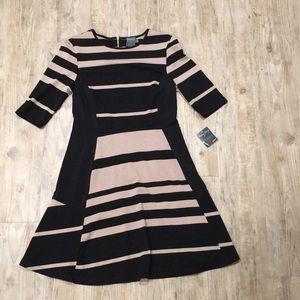 Gabby Skye Fit & Flare Sweater Dress